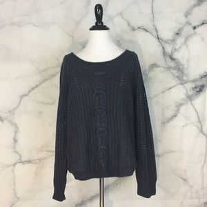 360 Sweater Cable Knit Sweater